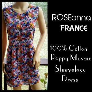 ▪️ROSEanna▪Poppy Mosaic Cotton Dress
